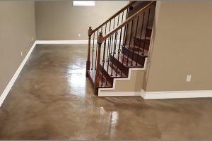 stained concrete - frisco conrete contractor 1