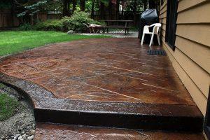 stamped concrete - frisco conrete contractor 1